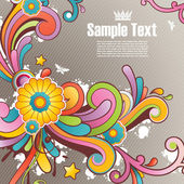 Modern colored background with free space for your text — 图库矢量图片