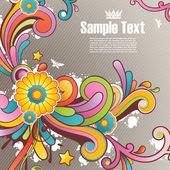 Moderní barevné pozadí s volným místem pro váš text — Stock vektor