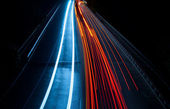 Abstract car lights — Stock Photo