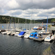 Boats on the Edersee - Stock Photo