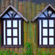 Stock Photo: Decorative Woody Windows