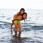 Fun in the water — Stock Photo