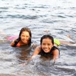 Joy Inside The Water — Stock Photo