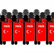 Stock Photo: Turkish Riot Police