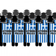 Stock Photo: Greek Riot Police