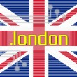 Stock Photo: Dot LONDON domain name