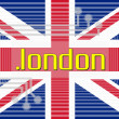 Dot LONDON domain name — Stock Photo