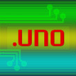 Stock Photo: Dot UNO domain name