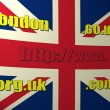 Stock Photo: New dot LONDON domain name