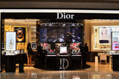 Dior Shop — Stock Photo