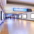 Foto Stock: Train station underpass