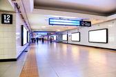 Sottopassaggio della stazione ferroviaria — Foto Stock
