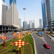 Shanghai Traffic building - Stock Photo