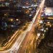 View of Beijing at night — Stock Photo