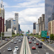 Traffic through downtown Beijing - Lizenzfreies Foto