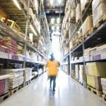 Large furniture warehouse — Stock Photo #18959005