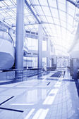 Modern hall inside office center — Stock Photo