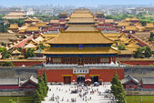 The Forbidden City,Beijing,China — Stock Photo