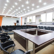 Stock Photo: Modern office interior Boardroom