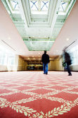 The Hotel corridor — Stock Photo