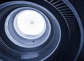 Abstract spiral staircase — Stock Photo