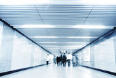 Urban Blues, fast life in the City with lot of Business in underpass — Stock Photo