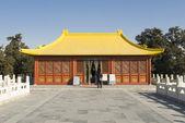 Pequeño pabellón en la ciudad prohibida china — Foto de Stock