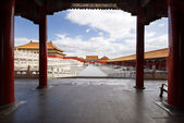 Beijing Forbidden City — 图库照片