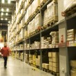 Stock fotografie: Warehouse shelves