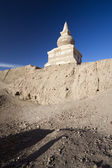 Inner Mongolia,Alxa League,EJINAQI,black city — Stock Photo