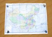 Chinese Map — Stock Photo