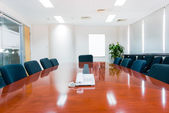 Modern office interior Boardroom — Stock Photo