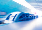 Maglev Train Station in Shangha — Stock Photo