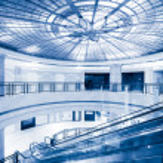 Modern building interior — Stock Photo #24240035