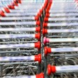 Stock Photo: Shopping carts,motion Blur