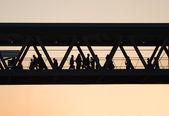 Yaya köprüsü — Stok fotoğraf
