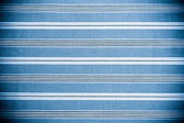 Blue fabric texture. Clothes background. Close up — Stock Photo