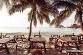 Tourist resort beach — Stock Photo