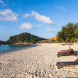 Tourist resort beach — Stock Photo