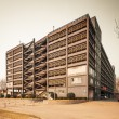 Multi storey indoor parking building — Stock Photo