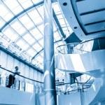 Modern hall inside office center — Stock Photo #35083947