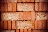 Textura de parede de tijolo vermelho — Fotografia Stock