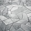 Stock Photo: Irregular pattern tiles