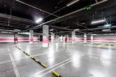 Empty underground parking — Stock Photo