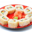 Royalty-Free Stock Photo: Traditional japanese sushi