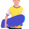 Royalty-Free Stock Photo: Boy with skateboard