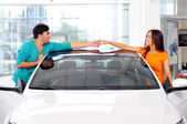 Car Sales — Stock Photo