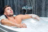 Taking bath — Stock Photo