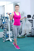 Fitness Woman — Stock fotografie