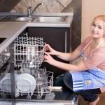 Kitchen Woman — Stock Photo #34992799